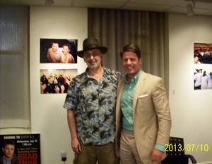 Robert Bidinotto with Brad Thor