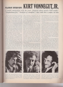 writer interview Vonnegut